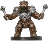 D&D Miniatures - Click to view the stats for Dwarf Battlerager Miniature