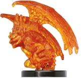 D&D Miniatures - Click to view the stats for Fire Mephit Miniature
