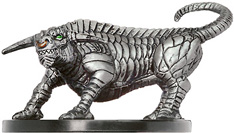 D&D Miniatures - Click to view the stats for Gorgon Miniature