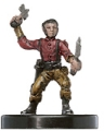 D&D Miniatures - Click to view the stats for Halfling Brawler Miniature