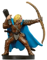 D&D Miniatures - Click to view the stats for Lyrandar Skyfire Captain Miniature