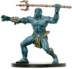 D&D Miniatures - Click to view the stats for Marid Miniature