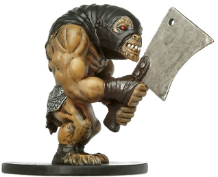 D&D Miniatures - Click to view the stats for Ogre Executioner Miniature
