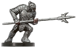 D&D Miniatures - Click to view the stats for Phalanx Soldier Miniature