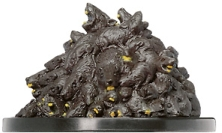 D&D Miniatures - Click to view the stats for Rat Swarm Miniature