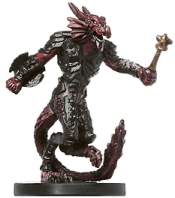D&D Miniatures - Click to view the stats for Redspawn Arcaniss Miniature