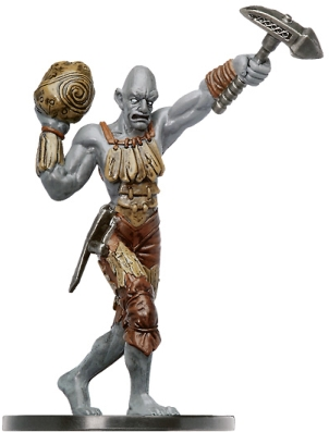 D&D Miniatures - Click to view the stats for Stone Giant Runecarver Miniature
