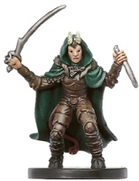 D&D Miniatures - Click to view the stats for Tiefling Warlock Miniature
