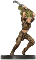 D&D Miniatures - Click to view the stats for Wild Elf Warsinger Miniature