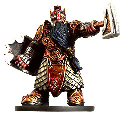 D&D Miniatures - Click to view the stats for Aspect of Moradin Miniature