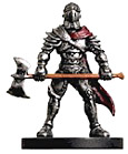 D&D Miniatures - Click to view the stats for Axe Soldier Miniature