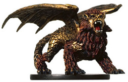D&D Miniatures - Click to view the stats for Dragonne Miniature