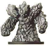 D&D Miniatures - Click to view the stats for Elemental Wall Miniature