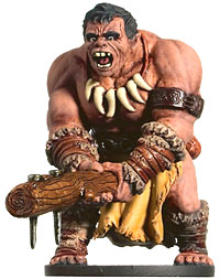 D&D Miniatures - Click to view the stats for Hill Giant Barbarian Miniature