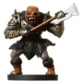 D&D Miniatures - Click to view the stats for Howling Orc Miniature
