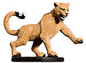 D&D Miniatures - Click to view the stats for Hunting Cougar Miniature