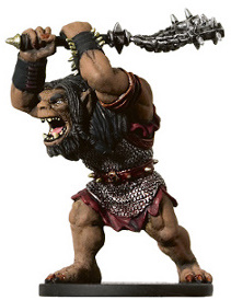 D&D Miniatures - Click to view the stats for Ogre War Hulk Miniature