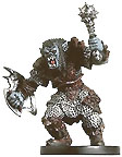 D&D Miniatures - Click to view the stats for Orc Mauler Miniature