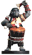 D&D Miniatures - Click to view the stats for Orc Wardrummer Miniature