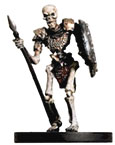 D&D Miniatures - Click to view the stats for Skeletal Legionnaire Miniature