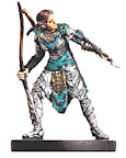 D&D Miniatures - Click to view the stats for Steelheart Archer Miniature