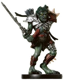 D&D Miniatures - Click to view the stats for War Troll Miniature