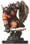 D&D Miniatures - Click to view the stats for Warduke Miniature