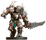 D&D Miniatures - Click to view the stats for Warforged Barbarian Miniature