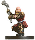 D&D Miniatures - Click to view the stats for Warpriest of Moradin Miniature