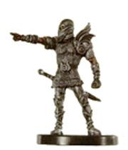 D&D Miniatures - Click to view the stats for Aasimar Fighter Miniature