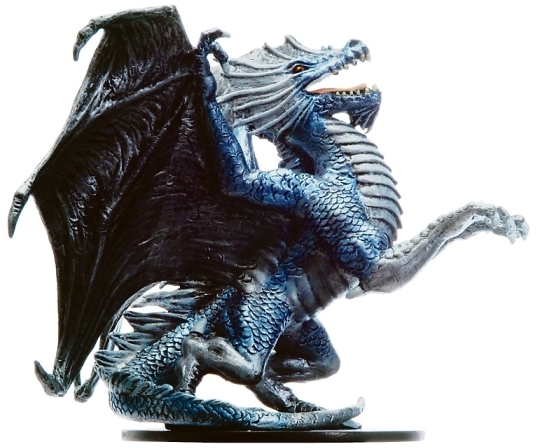 D&D Miniatures - Click to view the stats for Aspect of Bahamut Miniature