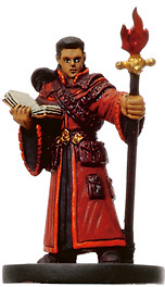 D&D Miniatures - Click to view the stats for Bonded Fire Summoner Miniature
