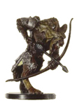 D&D Miniatures - Click to view the stats for Demonic Gnoll Archer Miniature