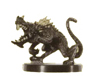 D&D Miniatures - Click to view the stats for Diseased Dire Rat Miniature