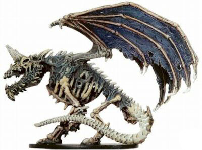 D&D Miniatures - Click to view the stats for Dracolich Miniature