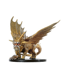 D&D Miniatures - Click to view the stats for Golden Protector Miniature