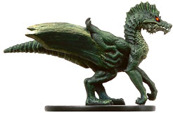 D&D Miniatures - Click to view the stats for Greenspawn Razorfiend Miniature