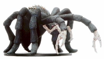 D&D Miniatures - Click to view the stats for Huge Fiendish Spider Miniature