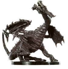D&D Miniatures - Click to view the stats for Large Fang Dragon Miniature