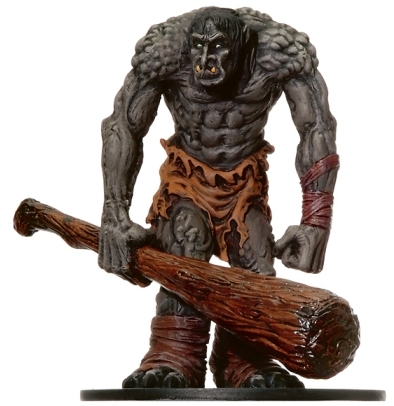 D&D Miniatures - Click to view the stats for Mountain Troll Miniature