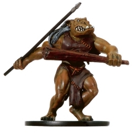 D&D Miniatures - Click to view the stats for Ogre Skirmisher Miniature