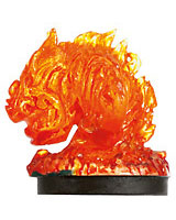 D&D Miniatures - Click to view the stats for Small Fire Elemental Miniature