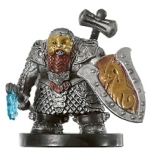D&D Miniatures - Click to view the stats for Tordek, Dwarf Champion Miniature