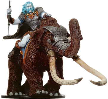 D&D Miniatures - Click to view the stats for Tundra Scout Miniature