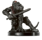D&D Miniatures - Click to view the stats for Wererat Rogue Miniature