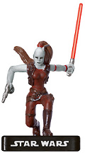 Star Wars Miniature - Aurra Sing, Jedi Hunter, #2 - Very Rare