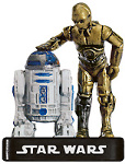 Star Wars Miniature - C-3PO and R2-D2, #5 - Rare