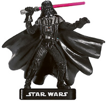Star Wars Miniature - Darth Vader, Imperial Commander, #25 - Very Rare