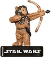 Star Wars Miniature - Ewok Warrior, #43 - Common