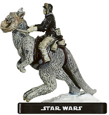 Star Wars Miniature - Han Solo on Tauntaun, #9 - Very Rare